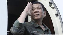 Duterte Sempat Terjebak Gempa M 6,8 yang Guncang Filipina