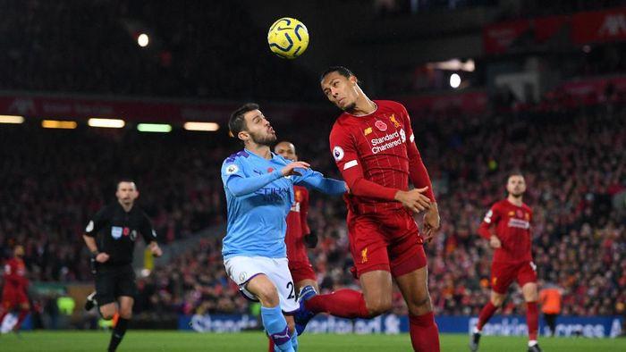 Virgil van Dijk siap menantikan kebangkitan Manchester City di sisa musim ini (Laurence Griffiths/Getty Images)