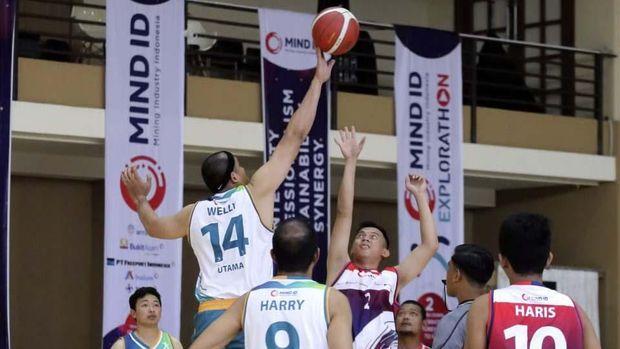 Holding Tambang Rayakan HUT dengan Kompetisi Basket