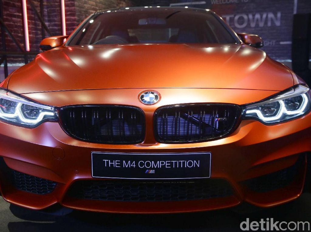 Spesifikasi BMW M4 Competition yang Siap Taklukan Sirkuit