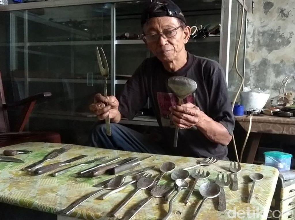 Pisau hingga Garpu Made in Rejosari Tembus Pasar Belanda