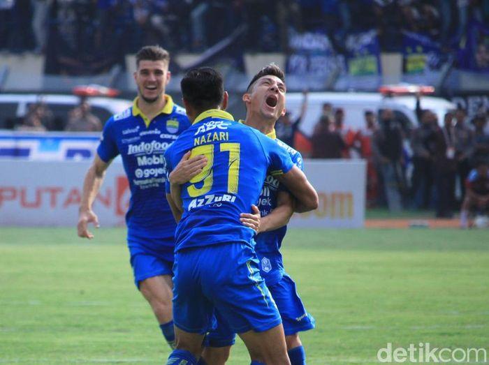Persib Bandung akan melakukan rotasi melawan Barito Putera. (Foto: Wisma Putra/detikcom)