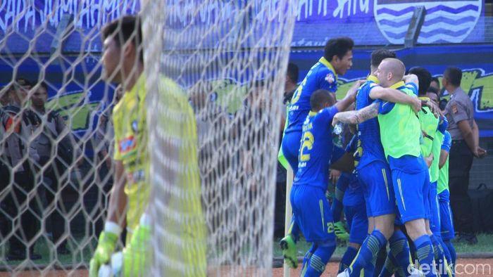 Persib Bandung tak boleh lengah di tujuh laga sisa di Liga 1 2019. (Foto: Wisma Putra/detikcom)