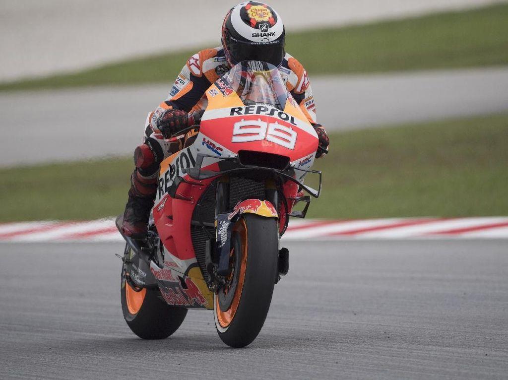 Lorenzo Lebih Nyaman Pakai Motor Honda Tahun Lalu