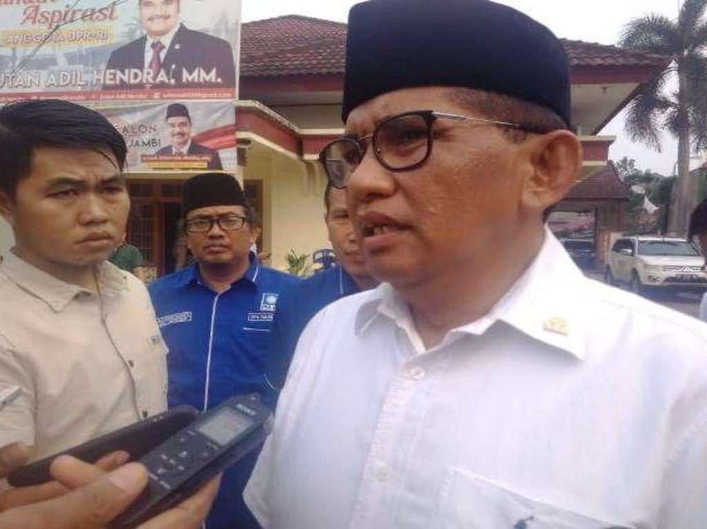 Anggota DPR Fraksi PAN, Bakri Siap Maju di Pilgub Jambi