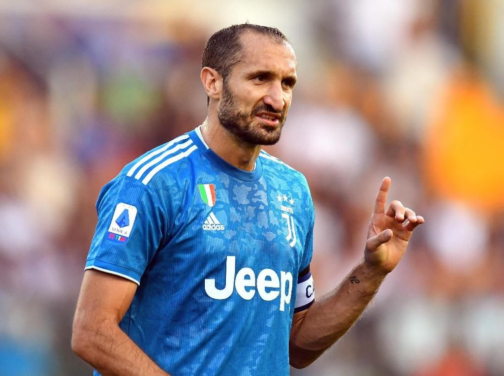 Chiellini: Saya Dulunya Fans Milan, tapi ...