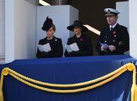 Meghan Markle di peringatan Remembrance Day.