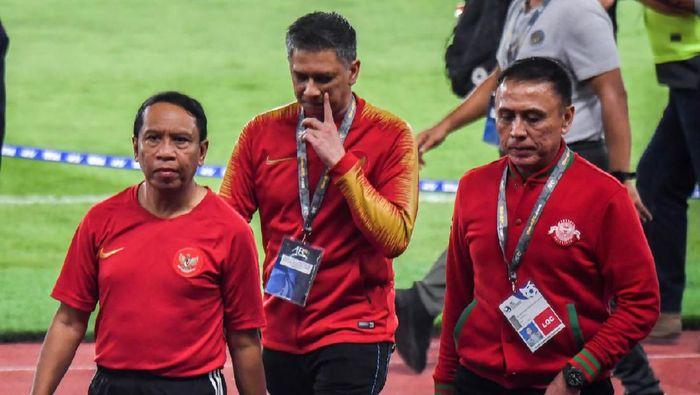 Menpora Zainudin Amali mengingatkan Timnas Indonesia U-23 ujian sesungguhnya ada di SEA Games 2019. (Foto: dok kemenpora)