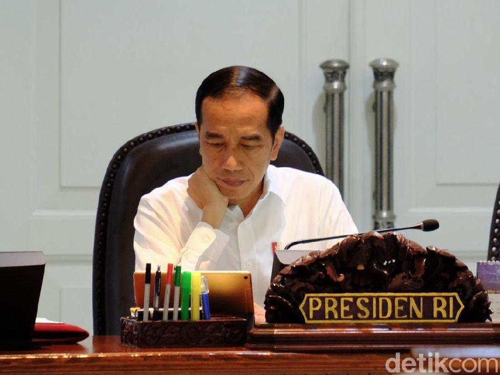 Lagi, Jokowi Curhat Sulitnya Atasi Tekor Neraca Dagang