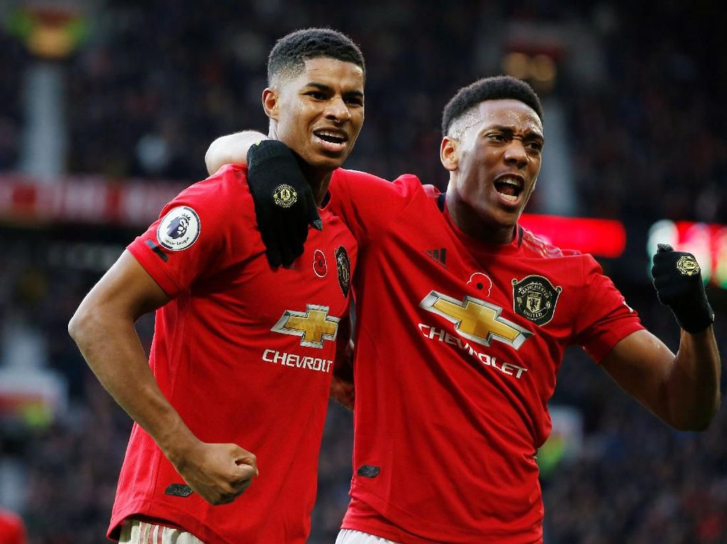 MU Vs Chelsea: Bisa Hentikan Rashford-Martial, The Blues?