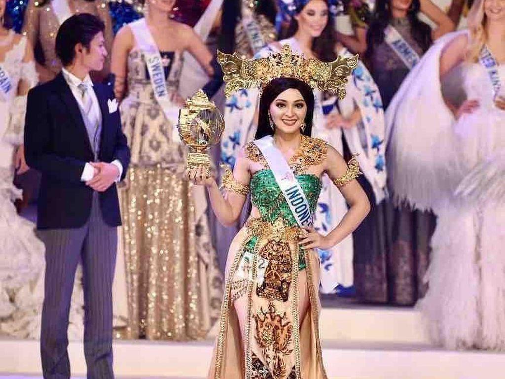 Foto: Aksi Jolene Marie yang Masuk Top 8 Miss International 2019