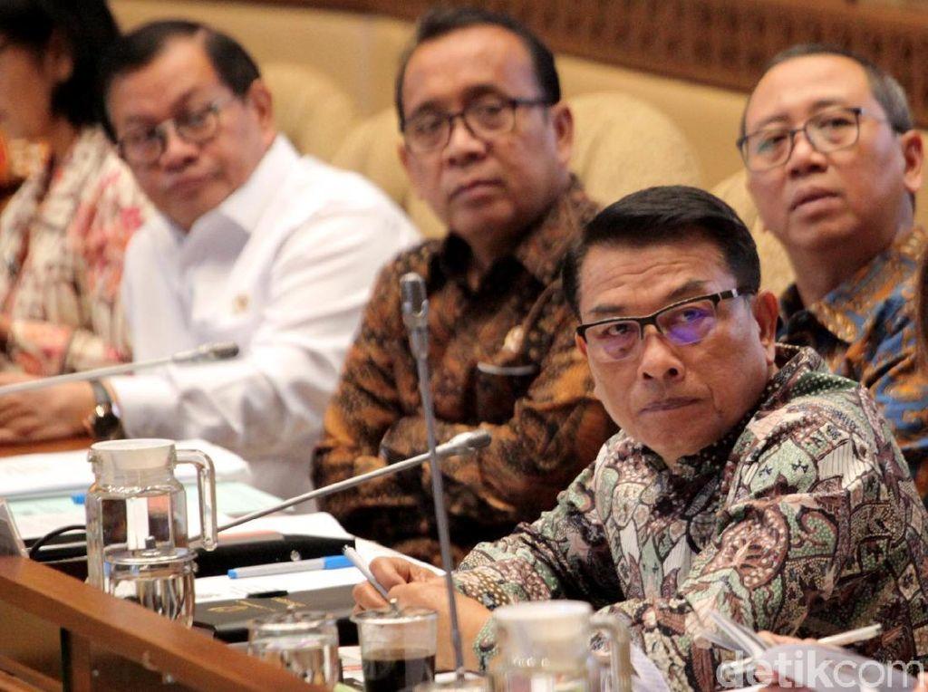 Moeldoko Sebut 3 Pihak yang Bisa Wakili Istana, Jubir Presiden Tak Termasuk