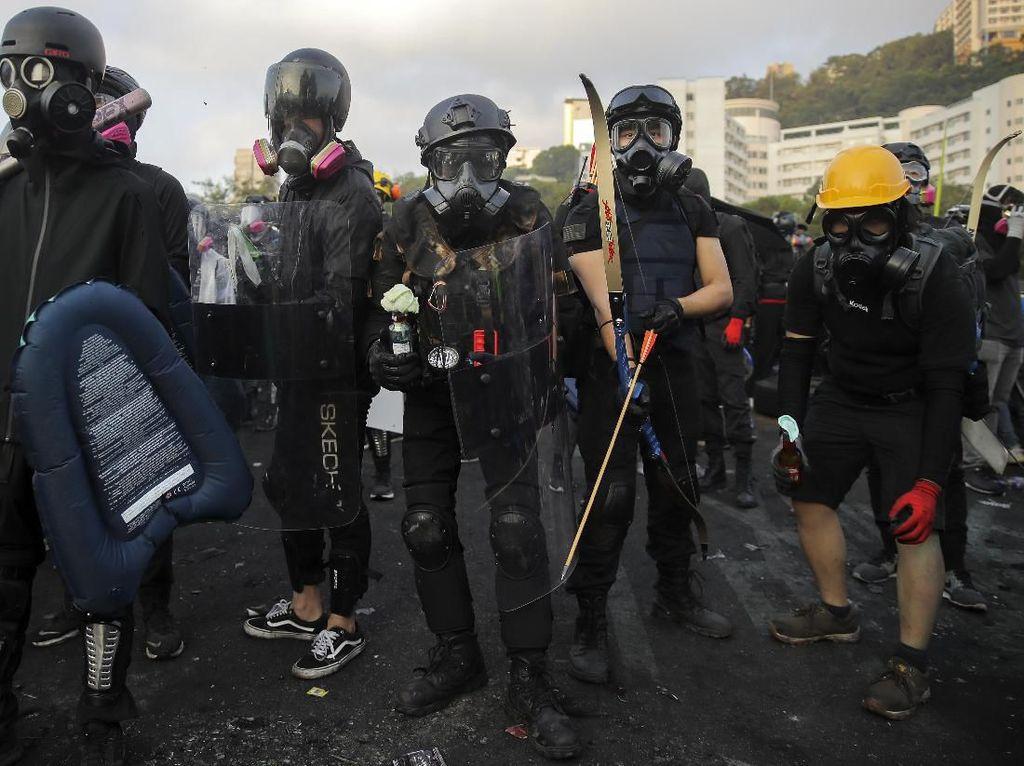 2 Mahasiswa Jerman Ditangkap di Hong Kong Terkait Aksi Demo