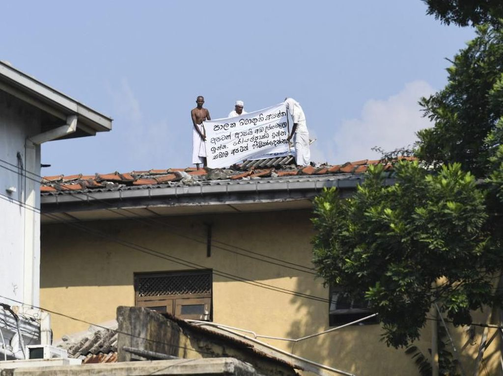 1 Terpidana Mati Diampuni, Ratusan Napi di Sri Lanka Juga Minta Bebas