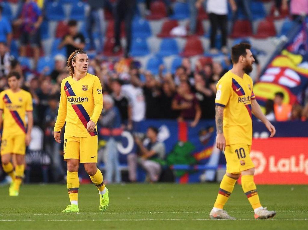 Griezmann Pernah Bikin Messi Kecewa, Soal Apa?