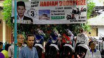 Cakades di Pekalongan Ramai Bagi Door Prize, dari Mobil hingga Umrah