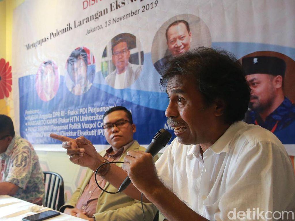 Diskusi Bahas Pelarangan Eks Napi Korupsi dalam Bursa Pilkada