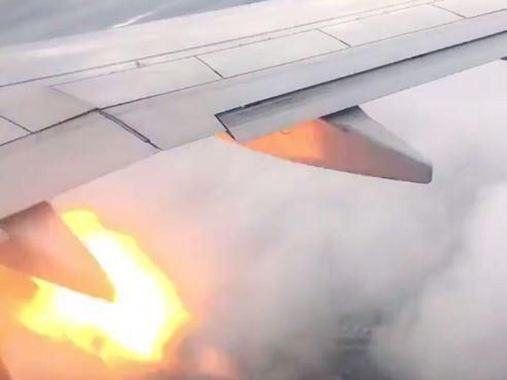 Mesin Pesawat Terbakar, Penumpang Tulis Pesan Terakhir buat Ibu