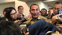 Gubernur Edy Minta Warga Waspada Usai Teror Bom Medan