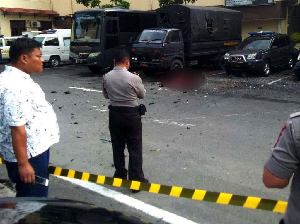 Serangan Bom Lone Wolf ke Markas Polisi Medan