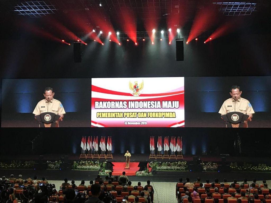 Mendagri Minta Forkopimda Sinergikan Visi-Misi Jokowi dengan Daerah