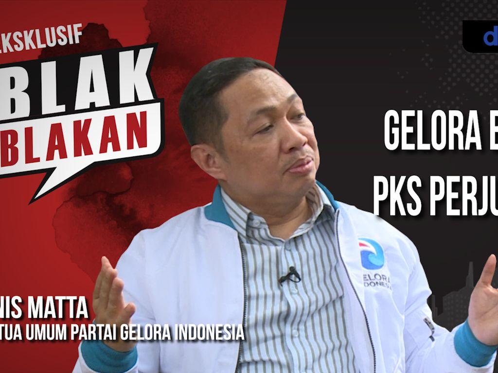 Blak-blakan Anis Matta: Gelora Bukan PKS Perjuangan