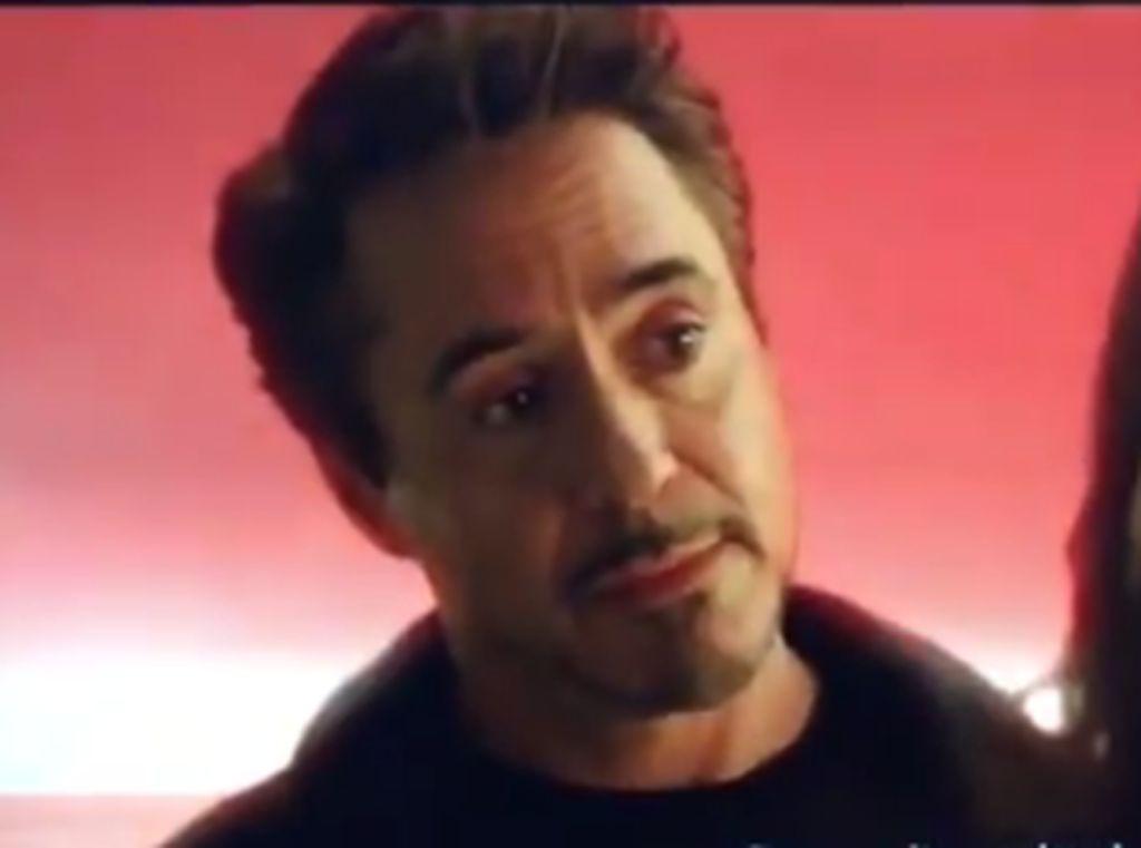Di Adegan Akhir Endgame yang Dihapus, Tony Stark Bertemu Morgan Dewasa