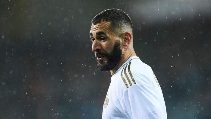 Karim Benzema disebut sebagai striker terbaik Prancis saat ini. Foto: Juan Manuel Serrano Arce/Getty Images