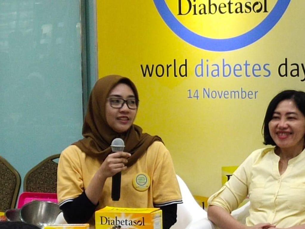 Kena Diabetes di Usia Muda, Begini Cerita Penderita Jaga Pola Hidup