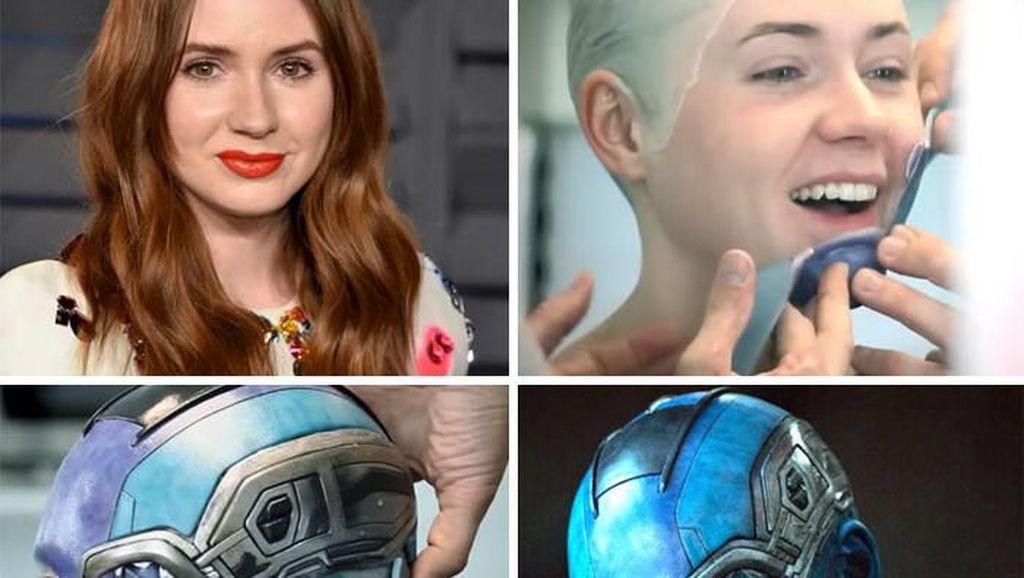Menakjubkan, Begini Proses Makeup Pemeran Thor Sampai Deadpool