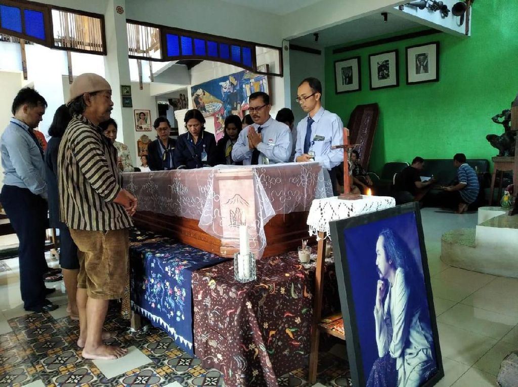 Pendiri Teater Gandrik Syok Djaduk Ferianto Meninggal