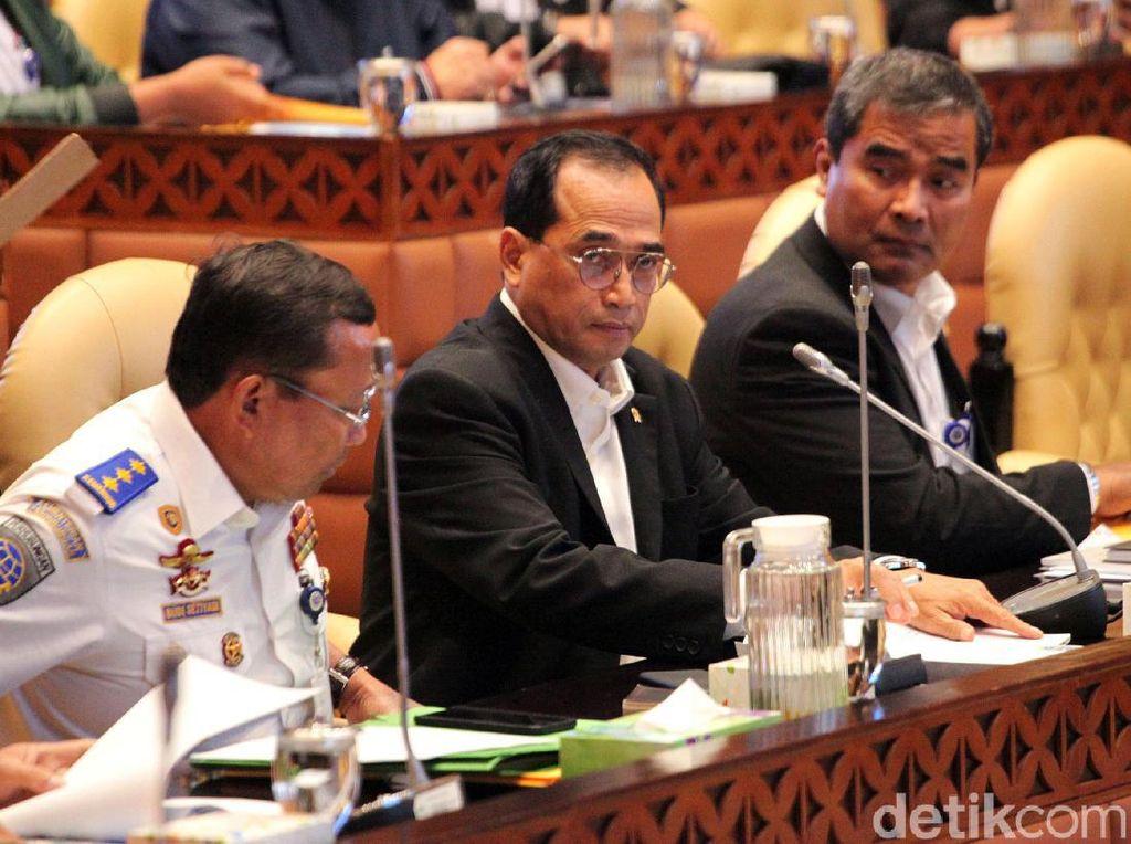 Menhub Paparkan Hasil Investigasi Lion Air PK-LQP ke Komisi V