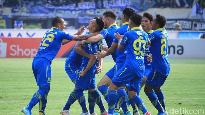 Persib Bandung kalahkan Arema FC 3-0 (Wisma Putra/detikSport)