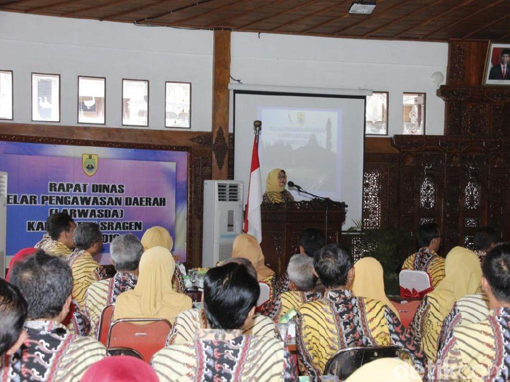 Inspektorat Sragen Buka-bukaan Penyimpangan Pengelolaan Anggaran 2018