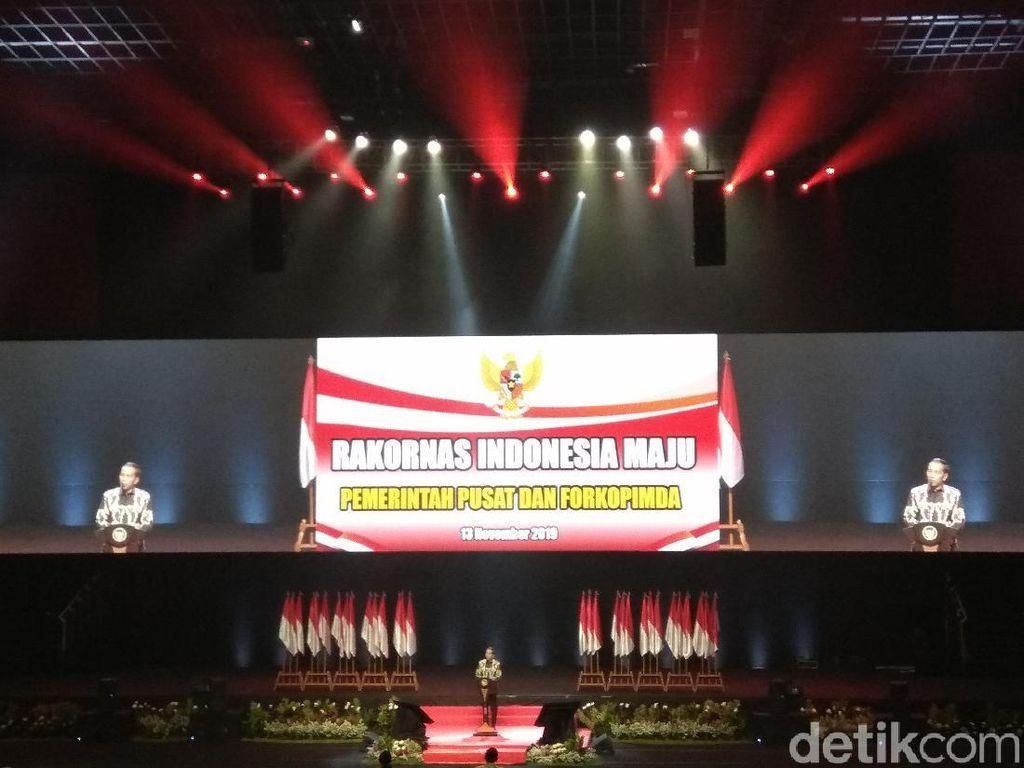 Buka Rakornas Forkopimda, Jokowi Ingatkan Sinergi Antarpimpinan