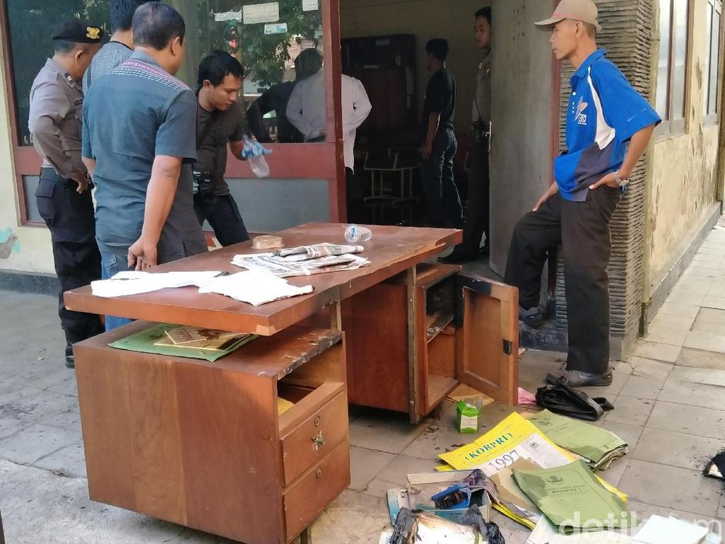 Terkuak! Meja Arsip di Kantor Korpri Klaten Ternyata Sengaja Dibakar