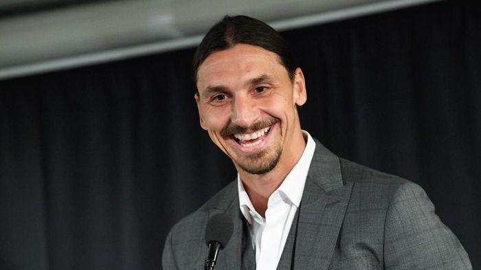 Zlatan Ibrahimovic menjadi co-owner anyar dari Hammarby (Foto: Johan NILSSON / TT News Agency / AFP)