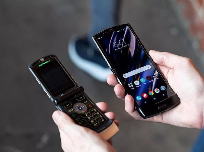 Motorola Razr Lahir Kembali, Ini Spesifikasi dan Harganya Foto: The Verge