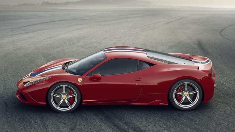 Ferrari 458 Speciale Foto: Pool (evo.co.uk)