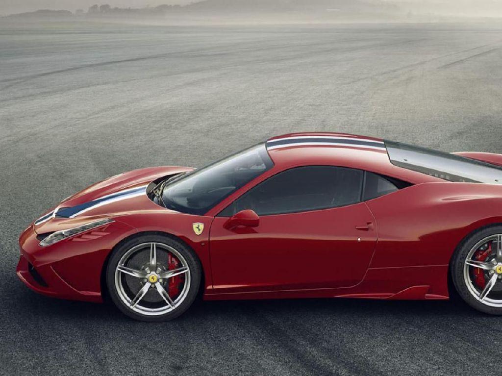 Begini Wujud Ferrari 458 Speciale yang Diselundupkan