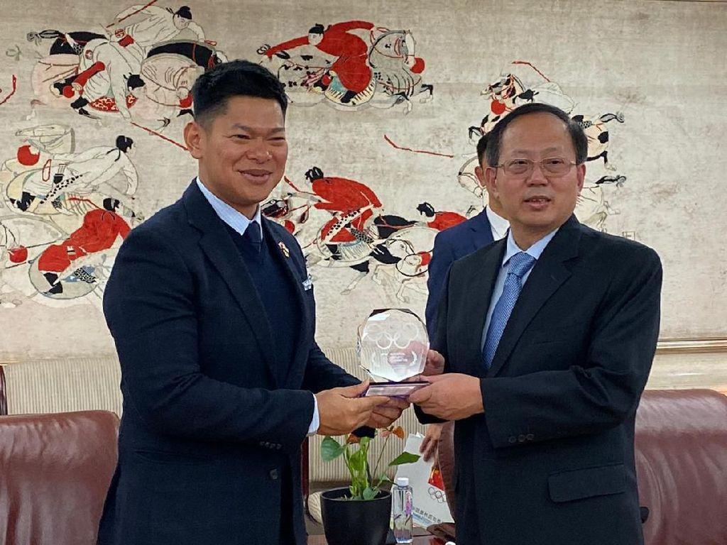 China Dukung Rencana Indonesia Jadi Tuan Rumah Olimpiade 2032