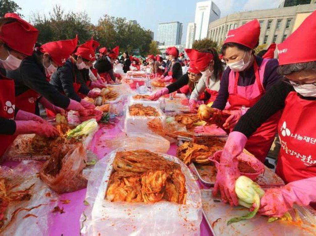 Di Korea Ada Festival Kimchi yang Digelar Setiap Tahun