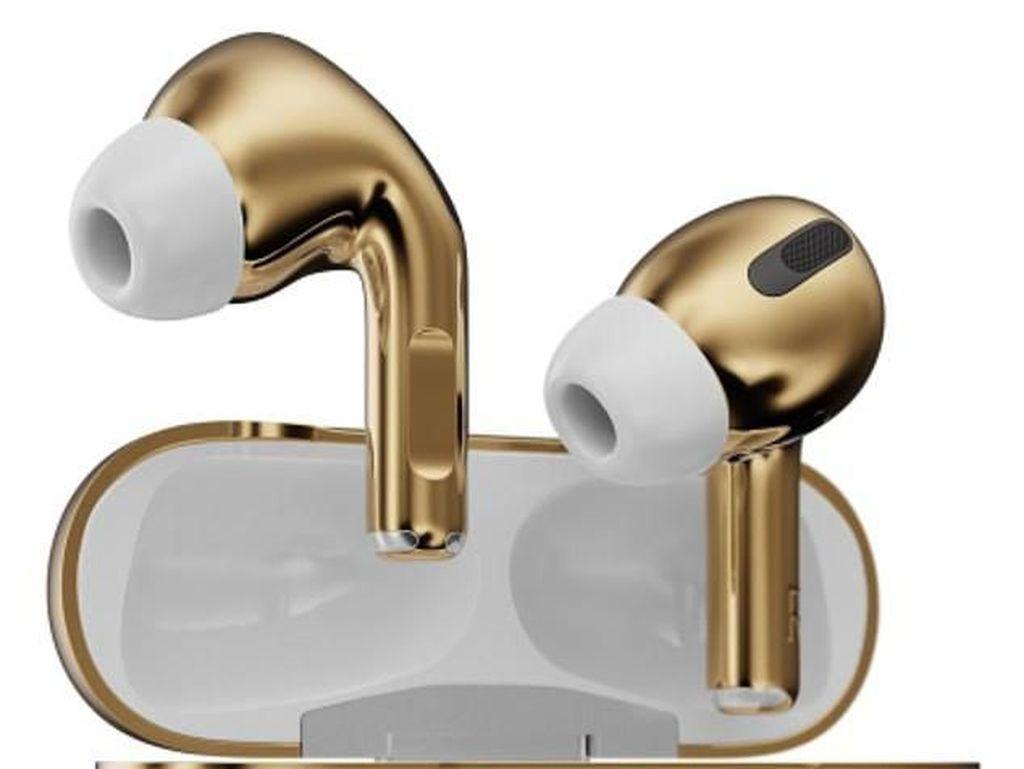 Cuma Ada Satu di Dunia, AirPods Emas Ini Dijual Seharga Hampir Rp 1 M