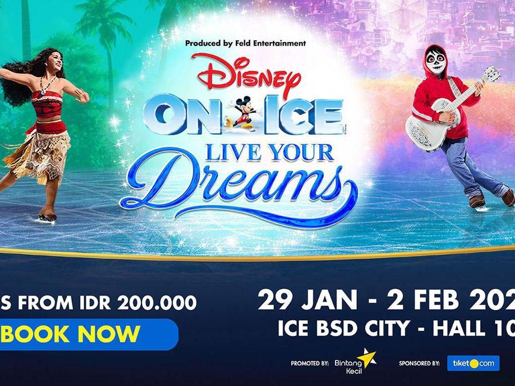 Disney on Ice Siap Berlayar di Arena Es 29 Januari 2020