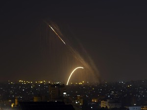 2 Roket Ditembakkan ke Ashdod, Israel Gempur Hamas di Gaza