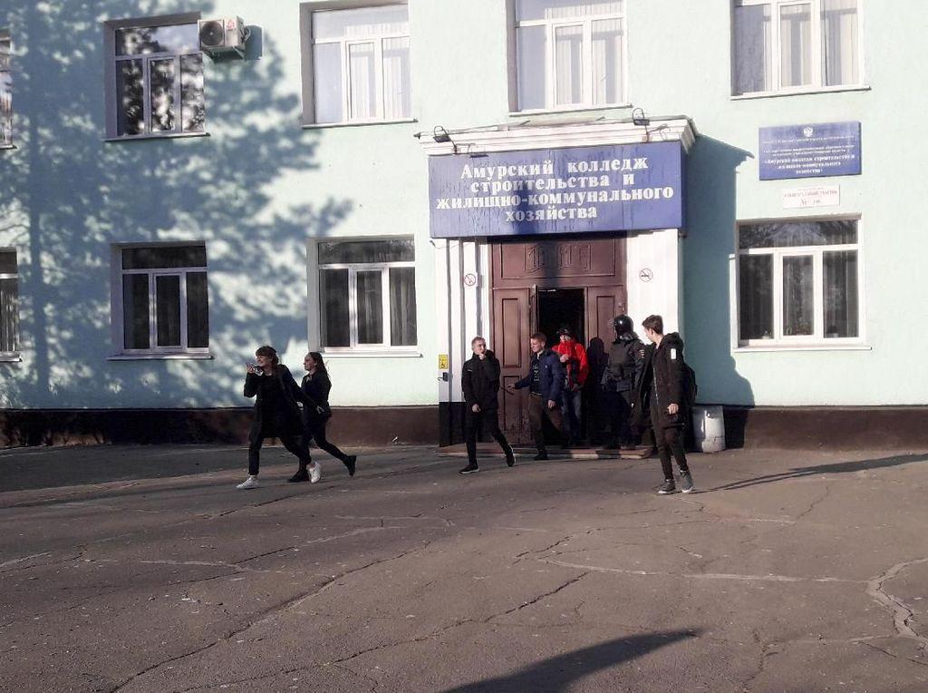 Mahasiswa Tembak Mati 1 Orang dan Lukai 3 Lainnya di Kampus Rusia