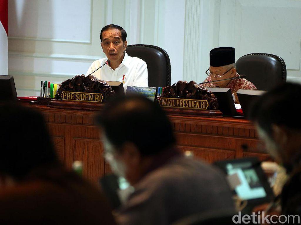 Jokowi dan Menteri Kabinet Indonesia Maju Bahas RPJMN 2020-2024