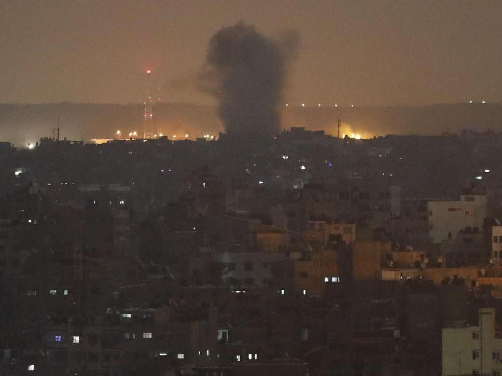 Gempuran Udara Israel ke Gaza Berlanjut, Korban Tewas Jadi 32 Orang