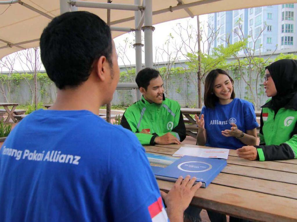 Allianz dan Gojek Perluas Manfaat Asuransi GoRide