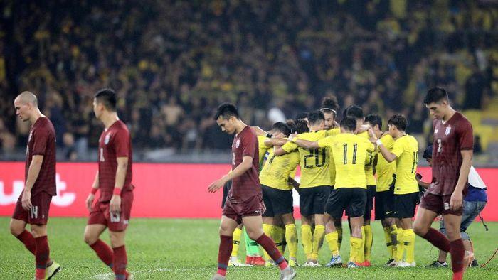 Malaysia sukses kalahkan Thailand 2-1 di Kualifikasi Piala Dunia 2022 (Foto: REUTERS/Lim Huey Teng)